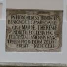 Emléktábla a fülöpszállási templomon
