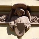 Római Katolikus Gimnázium épületdíszei
