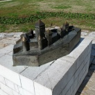 Belgrád, középkori vár - makett