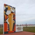 168-as kút emlékműve