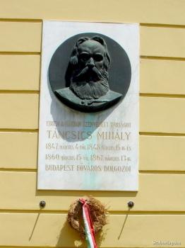 Táncsics Mihály-emléktábla