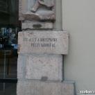Pesti városfal emlék