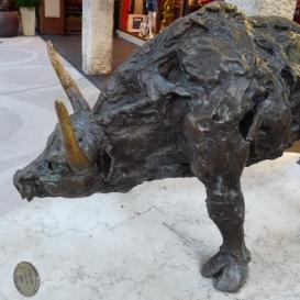 Bika-szobor