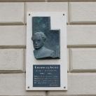 Losonczy Géza domborműves emléktáblája