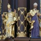 A Szent Anna-székesegyház főoltárdíszítő szobrai