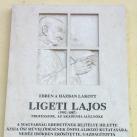 Ligeti Lajos-emléktábla