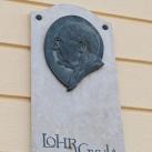 Lohr Gyula-emléktábla