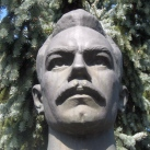 József Attila-mellszobor