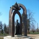 Országalapítási emlékmű Szent Istvánnal