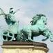 Háborús biga-szobor