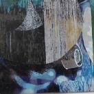Mázas mozaik kép