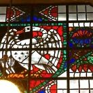 Uxbridge állomás üvegablakai