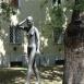 Leány akt-szobor