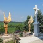 Máriakéméndi kegytemplom szobor-díszei