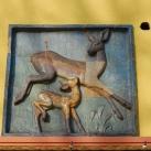 A Gubacsi lakótelep épületeinek díszítő kerámiái III. - Őzikék