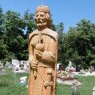 István király szobra