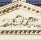 Veszprémi megyeháza épületdíszei