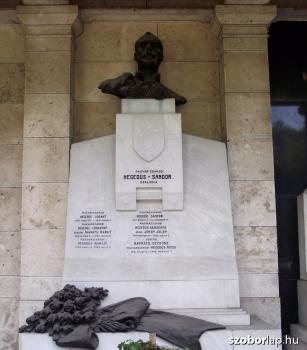 Magyarzsákodi Hegedűs Sándor és családja síremléke
