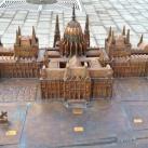 Tapintható térkép - Kossuth tér a Parlamenttel