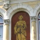 Kossuth Gimnázium épületdíszei