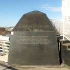 Lágymányosi híd építési emlékköve