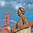 Manhertz Erzsébet nővér SJC mellszobra