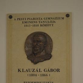 Klauzál Gábor-emléktábla