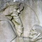 Hamlet - Szüry Dénes síremléke