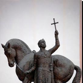 Szent István lovasszobor