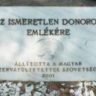 Ismeretlen donorok emlékműve