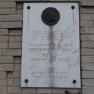 Obersovszky Gyula-emléktábla