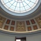Az Északi Pavilon kupolafestése