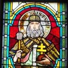 A Szent Lajos király templom üvegablakai