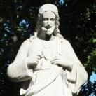 Jézus Szíve-szobor