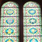Szent Lukács és Szent János üvegablak