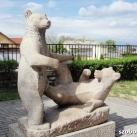 Játszó medvék