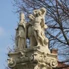 Szent Zakariás, Rozália és Sebestyén szoborcsoport