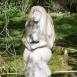Borbála-szobor