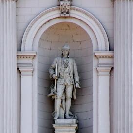 James Watt (A Keleti pályaudvar homlokzatát díszítőszobor 3.)