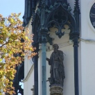 Igló gótikus templomtornyának szobrai