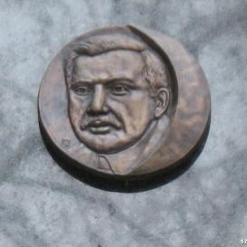 Csáth Géza emléktáblája