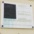 Illyés Gyula-emléktábla