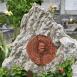 Simon László vezérkari őrnagy síremlékműve