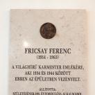 Fricsay Ferenc-emléktábla