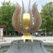 Göcseji tulipán-szökőkút