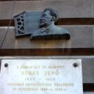 Hubay Jenő-emléktábla