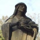 Szent Franciska-szobor