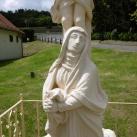 A megfeszített Jézus és Mária
