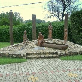 Balatoni halászok emlékműve