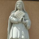 Szent Terézia szobra